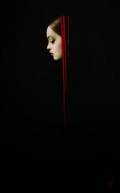 by Taras Loboda - Black - Photography - Portrait Pose Portrait, Portrait Photography, Photography Women, Black White Photos, Black And White Photography, Foto Art, Chiaroscuro, Dark Beauty, Black Backgrounds