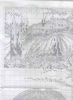 Cross stitch pattern,Toscana 2 of 9.