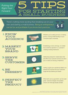 5 #starup tips for #enterpreneurs via @SanFranciscoVC #Infografia