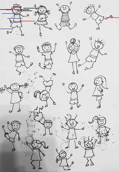 Doodle sketch, doodle drawings, easy drawings, doodle art, drawing lessons for kids Doodle Sketch, Doodle Drawings, Doodle Art, Drawing Sketches, Drawing Lessons For Kids, Drawing Videos For Kids, Art Lessons, Stick Men Drawings, Easy Drawings
