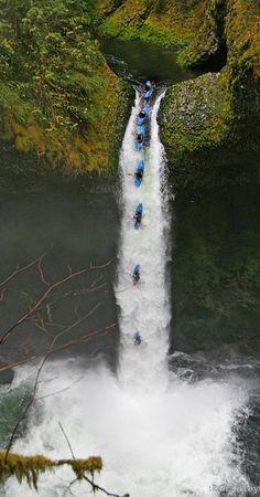 White water; extreme edition @ Metlako Falls, Oregon