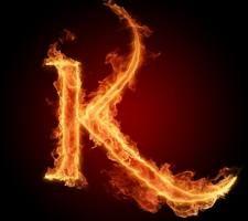 Letter K In Fire Hd