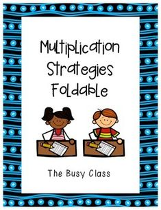 Help students remember all the different strategies they can use to multiply… Multiplication Squares, Multiplication Activities, Third Grade Math, Grade 2, Types Of Angles, Repeated Addition, Teaching Math, Teaching Resources, Math Anchor Charts