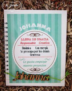 Cuadernos Personalizados #LeJardìn Imagina, Crea y sorprende con un detalle personalizado en donde plasmes tus sentimientos. !!Más que un detalle, diseñamos tu historia