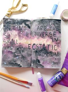 punk projects: The Lilac Color Chaos Journal
