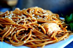Spicy Chicken Lo Mein | Every Craving