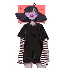 sorry i havent posted ive been really lazy and tired hsgsgsha have some marceline art
