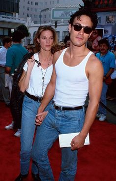 Brandon Lee and fiance Eliza
