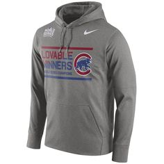 Chicago Cubs 2016 World Series Champions Celebration Performance Pullover Hoodie  #ChicagoCubs #Cubs #FlyTheW #WorldSeries SportsWorldChicago.com