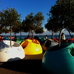 Portable garden by Leonel Maura at Lisbon Waterfront