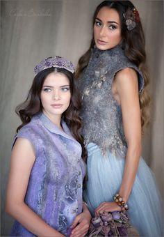 """Купить Диадема """"Принцесса Фиалка"""" - диадема, украшение для волос, украшение в прическу, сирень, фиалка"""