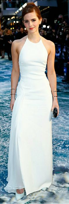 Emma Watson Dazzles In White. Is This Her Best Noah Look Yet?