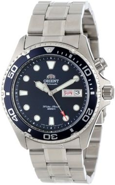 Orient Men's Automatic Diver Watch Product Features Self-winding automatic Case diameter: Mineral crystal Fantastic lumination on indices Water resistant to 200 meters feet) Product Description The is from the new Orient Ray collection that. Stylish Watches, Luxury Watches For Men, Cool Watches, Cheap Watches, Wrist Watches, Men's Watches, Best Sports Watch, Fitness Watches For Women, Orient Watch