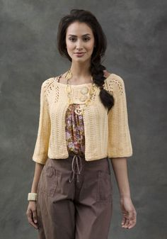 New Orleans Knit Cardi - FREE Pattern