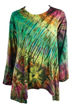 Jayli Imports, Inc. Store - Cotton Mudmee Long Sleeve Flowy Top, $40.00 (http://www.jayli.com/cotton-mudmee-long-sleeve-flowy-top/)