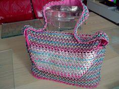 TUTORIEL : Comment fabriquer facilement un sac en capsules de canettes a...