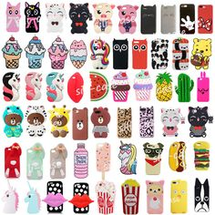 Cute Cartoon Kids Soft Silicone Phone Case Cover Back For Iphone 5 Se Phone Cases Samsung Galaxy, Cute Phone Cases, Iphone Phone Cases, Cartoon Kids, Cute Cartoon, Kawaii Phone Case, Barbie Doll Accessories, Us Cellular, Silicone Phone Case