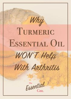 Everyone recommends this essential oil for arthritis! But I didn't know that the oil and the herb could be so different! Pin and share to everyone so we stop wasting our money! Turmeric Essential Oil, Essential Oil Uses, Home Remedies For Skin, Natural Health Remedies, Now Oils, Plant Therapy, Turmeric Root, Natural Medicine, Essentials