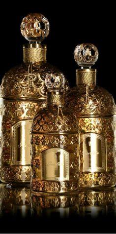 gold.quenalbertini: Golden Bottles | HananHanna
