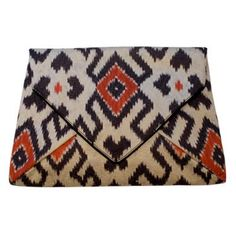 Dries Van Noten Ikat Clutch