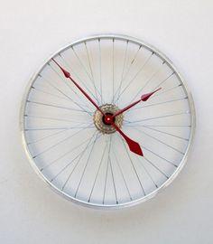reloj de rueda de bicicleta