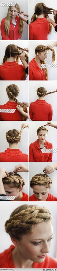 Leia hair!