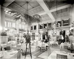 (c. 1908) Pompeiian Room, Hotel Seneca - Rochester, New York