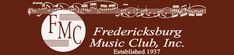 Fredericksburg Music Club - great events throughout the year.