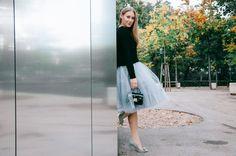 DIY tulle skirt Diy Tulle Skirt, Waist Skirt, High Waisted Skirt, Hi Gorgeous, Style Blog, Ballerina, Sewing Projects, Personal Style, Ballet Skirt