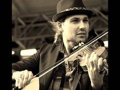 David Garrett beautiful♡, one magnificent looking virtuoso in sepia, playing Adagio♡