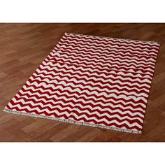 Another chevron rug sold by Wayfair.