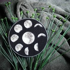 "2,791 Likes, 44 Comments - Strong Resilient Indigenous (@reclaimyourpower) on Instagram: ""love this beadwork by @blu_hummingbird 🌒🌓🌔🌕🌖🌗🌘 #grandmothermoon"""