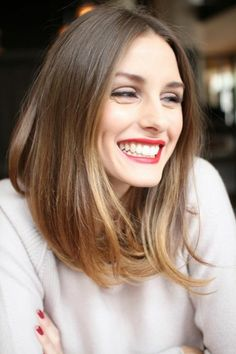 If you're looking for 2016 Lob haircuts and 2016 lob hairstyles ! You must see our gorgeous 2016 lob haircut and 2016 lob hairstyle ideas Hot Haircuts, Long Bob Haircuts, Long Bob Hairstyles, Pretty Hairstyles, Ombre Hair, Olivia Palermo Hair, Lily Collins Hair, Lob Hairstyle, Medium Hair Cuts