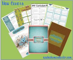 A few of the 17 and growing free covers for your planners by Tina at New Beginnings {enjoy}