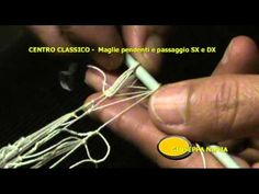Centro Classico in filet in tondo 3^ parte