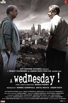Tv Shows Wednesday A retiring police officer reminisces about the most astounding day of his career. About a case that was never filed but continues to haunt him in his memories - the case of a man and a Wednesday. Hindi Movies, Hindi Bollywood Movies, Disney Pixar, Wednesday Movie, Mystery Film, Mystery Thriller, Comedy, Top Movies, Movies Free