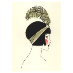 jazz age art - Google Search. This piece of art is rather simple but some how interesting. I admire how the artist has made the flapper girl into an illustration.