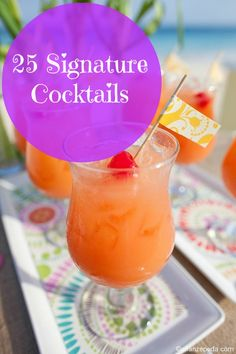 Signature cocktails are such a fun, creative and budget-friendly trend. Check out these easy DIY recipes: Photo Credit: Allan Zepeda Photography (Photo and Recipe: Coastal Living) Makes 4 drinks 3/4 cup fresh orange juice 1 large mango, seeded and chopped 1/4 cup Key lime juice 1/3 cup tequila 1/4 cup Cointreau or other orange-flavored liqueur... View Article
