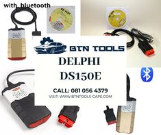 Delphi (with Bluetooth) : For Sale: Delphi Auto Diagnostic Tool Intelligent Systems, Commercial Vehicle, Bluetooth, Tools, Instruments