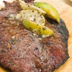 Authentic Carne asada al cilantro (roast beef with coriander) by pepediaz @ allrecipes.com.mx
