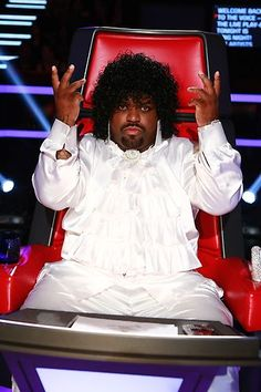 What will CeeLo wear next? #TeamCeeLo #TheVoice