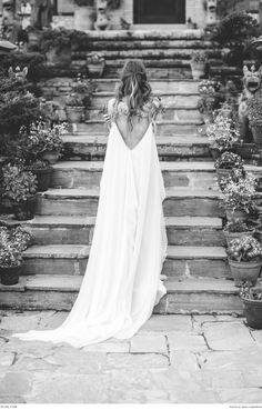 Beautiful dress by Carol Hannah | Model: Natalie Papova | Photograph by Bianca Rijkenbarg | Styled Shoot