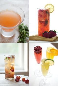 Pretty drinks + pretty composition