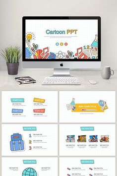 Powerpoint Design Templates, Powerpoint Template Free, Booklet Design, Flyer Template, Graphic Design Lessons, Graphic Design Posters, Education Templates, Background Powerpoint, Presentation Layout
