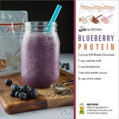 Delicious Blueberry #Protein Shake! #310Shake