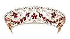 The Rosenborg Kokoshnik Tiara - Made in the 1930's by the Danish jeweller Dragsted