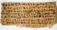 Papyrus Referring to Jesus's Wife Is More Likely Ancient Than Fake, Scientists Say