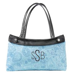 Skirt Purse in Black w/ Skirt in Aqua Paisley Parade! $45.00 (comes with one free skirt, additional skirts either 15.00 or 25.00) www.mythirtyone.com/KristiLeeSmith/ #thirtyone