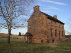 Stone House at Manassas Battlefield. Went here on yet another Civil War adventure.