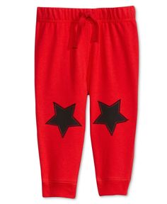 First Impressions Baby Boys' Star-Patch Jogger Pants, Only at Macy's Jogger Pants, Joggers, Kids Pants, Leggings Are Not Pants, Sewing Projects, Patches, Stars, Baby Boys, Swimwear